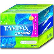 TAMPAX CEF Гигиенические Тампоны с апликатором Super Duo 16шт