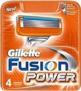 FUSiON Power Картридж для бритья 4шт