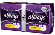 ALWAYS Ultra Женские гигиенические прокладки Platinum Collection Light 20шт
