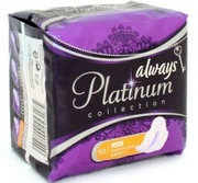ALWAYS Ultra Женские гигиенические прокладки Platinum Collection Light 10шт