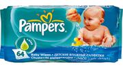 PAMPERS Детские салфетки Baby Fresh Сменный блок 64