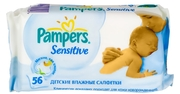 PAMPERS Детские салфетки Sensitive Сменный Блок 56