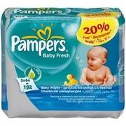 PAMPERS Детские салфетки Baby Fresh Сменный блок 3х64