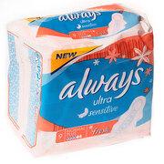 ALWAYS Ultra Sensitive Fresh Женские гигиенические прокладки Normal Plus 9шт