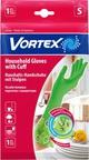 Vortex Перчатки хозяйственные с манжетами M