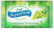 Super Fresh Влажные салфетки Fruit 15шт,