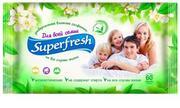 Super Fresh Влажные салфетки для всей семьи 60 шт,