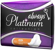ALWAYS Ultra Женские гигиенические прокладки Platinum Collection Normal Plus 10шт