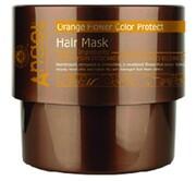 Angel Защитная маска для окрашеных волос Сияющий цвет с цветком апельсина, 500 мл.
