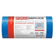 PRO Пакет для мусора  60 * 80 синие ХД 60л/40шт.