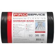 PRO Пакет для мусора  45 * 50 черные HD 35л/50шт.