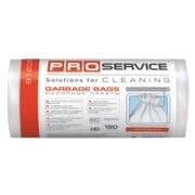 PRO Пакет для мусора  70 * 110 белые ЛД 120л/10шт. Увеличенной плотности!