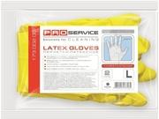 PRO Перчатки универсальные латексные, 1 пары, L