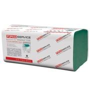 PRO service Optimum Полотенце бумажное V-укладка зеленое макулатурное 160 шт.