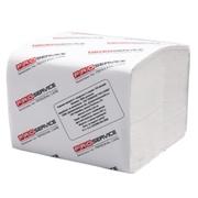 PRO service Бумага туалетная в листах целлюлозная 2-х слойная 300 шт. гладкий