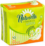 NATURELLA Ultra Женские гигиенические прокладки Camomile Normal 10шт