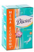 DISCREET Ежедневные гигиенические прокладки Deo Water Lily 100шт
