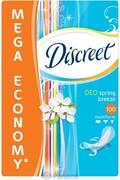 DISCREET Ежедневные гигиенические прокладки Deo Spring Breeze 100шт