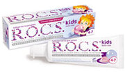 R.O.C.S Зубная паста kids бабл гам 45г