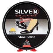 Крем для обуви в железных банках, черный, 50 мл