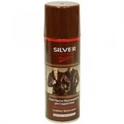 Спрей краска восстановитель для гладкой кожи, коричневая, 200 мл