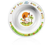 AVENT Тарелка глубокая маленькая от 6 мес с рисунком