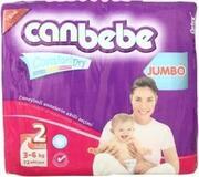 CANBEBE Детские подгузники Comfort Jumbo mini  (3-6 кг) 72 шт