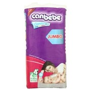 CANBEBE Детские подгузники Comfort dry Jumbo maxi+ (9-20 кг) 44 шт
