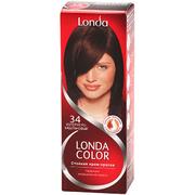 LONDA Крем-краска для волос стойкая 34 Золотисто Каштановый