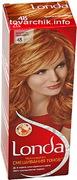LONDA Крем-краска для волос стойкая 48 Золотисто-оранжевый