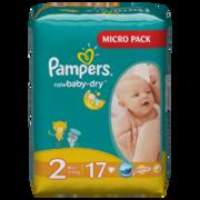 PAMPERS Детские подгузники New Baby-Dry Mini (3-6 кг) Микро Упаковка 17