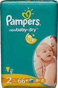 PAMPERS Детские подгузники New Baby-Dry Mini (3-6кг) Экономичная Упаковка Минус 66