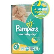 PAMPERS Детские подгузники New Baby-Dry Mini (3-6 кг) Экономiчна Упаковка 68