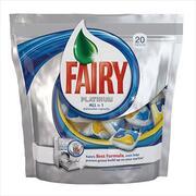 FAIRY Platinum All in 1 Средство для посудомоечных машин (капсулы) 20шт