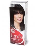 LONDA Крем-краска для волос стойкая для упрямой седины 11 Черный