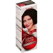 LONDA Крем-краска для волос стойкая для упрямой седины 12 Темно Коричневый