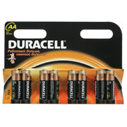 DURACELL Basic AA Батарейки алкалиновые 1.5V LR6 8шт
