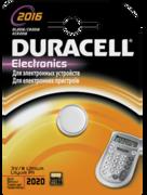 DURACELL Батарейка литиевая для электронных приборов 3V 2016 1шт