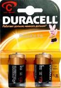 DURACELL Basic C Батарейки алкалиновые 1.5V LR14 2шт