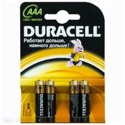 DURACELL Basic AAA Батарейки алкалиновые 1.5V LR03 4шт
