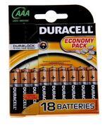 DURACELL Basic AAA Батарейки алкалиновые LR03 18шт