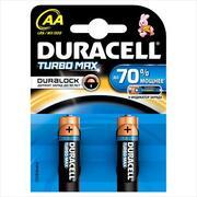 DURACELL TurboMax AA Батарейки алкалиновые 1.5V LR6 2шт