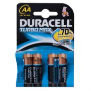 DURACELL TurboMax AA Батарейки алкалиновые 1.5V LR6 4шт
