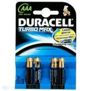 DURACELL TurboMax AAA Батарейки алкалиновые 1.5V LR03 4шт