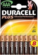 DURACELL Basic AAA Батарейки алкалиновые LR03 8шт