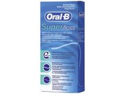 ORAL-B Зубная нить Super floss 50м