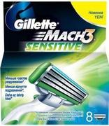 MACH3 Sensitive Сменные кассеты для бритья 8шт