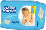 Детские пеленки Helen Harper Baby Bed Mats 60x60 cm, 10шт