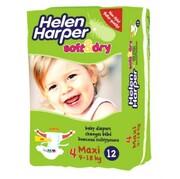 Детские подгузники Helen Harper Maxi 9-18 kg, 12шт