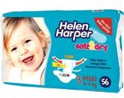 Детские подгузники Helen Harper Midi 4-9 kg, 56шт